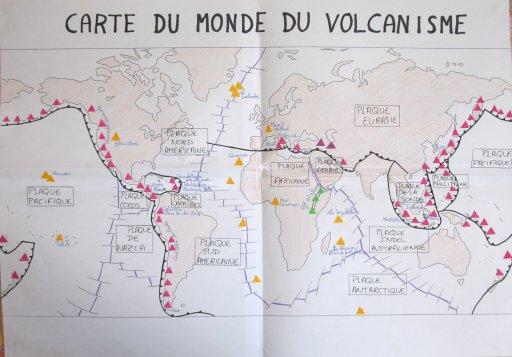 Carte Des Principaux Volcans Du Monde | casamagenta
